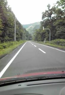 山の向こう